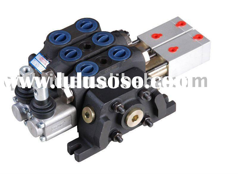 sectional hydraulic pneumatic control valve 60L/min