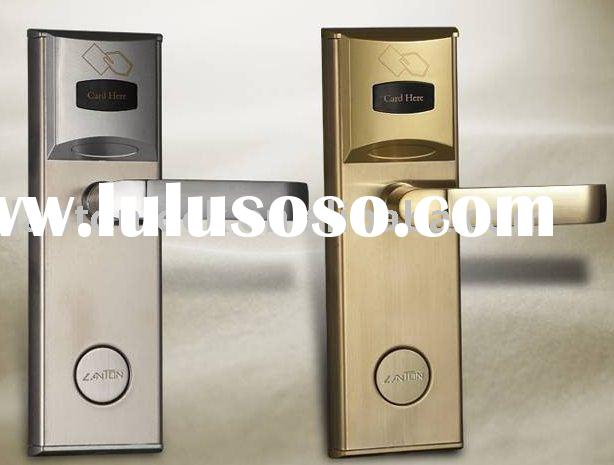 security electronic sensor RF card hotel door lock