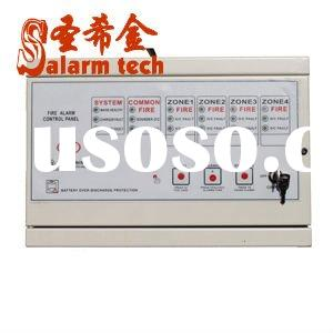 security fire alarm control panel,zone numbers:1/2/4