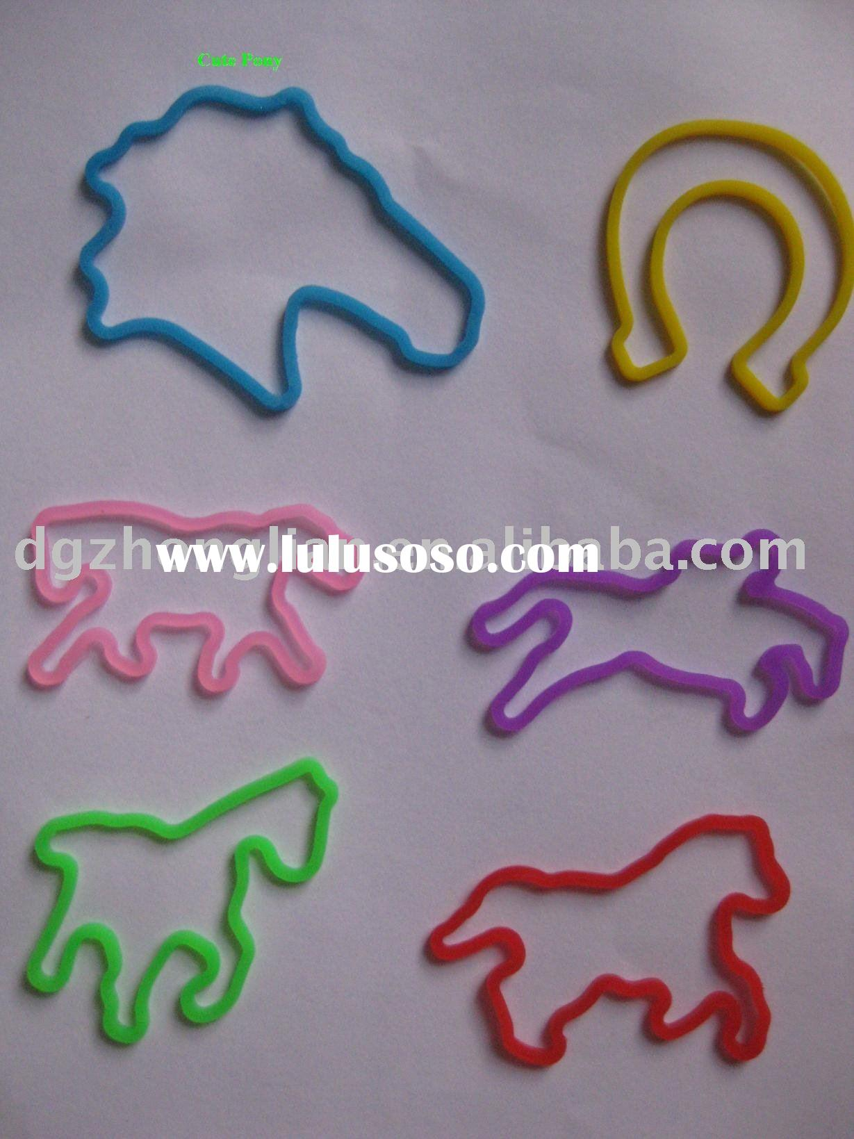 shaped silicone bands
