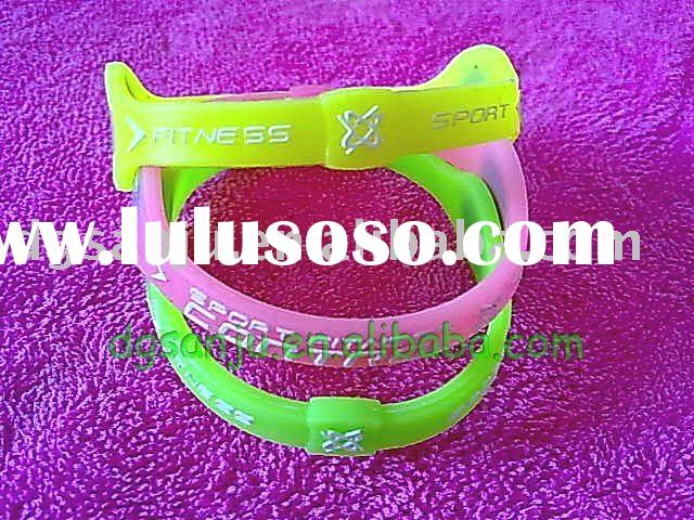 silicone band/bracelet/wristlet of magnetic force