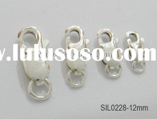 silver lobster clasp