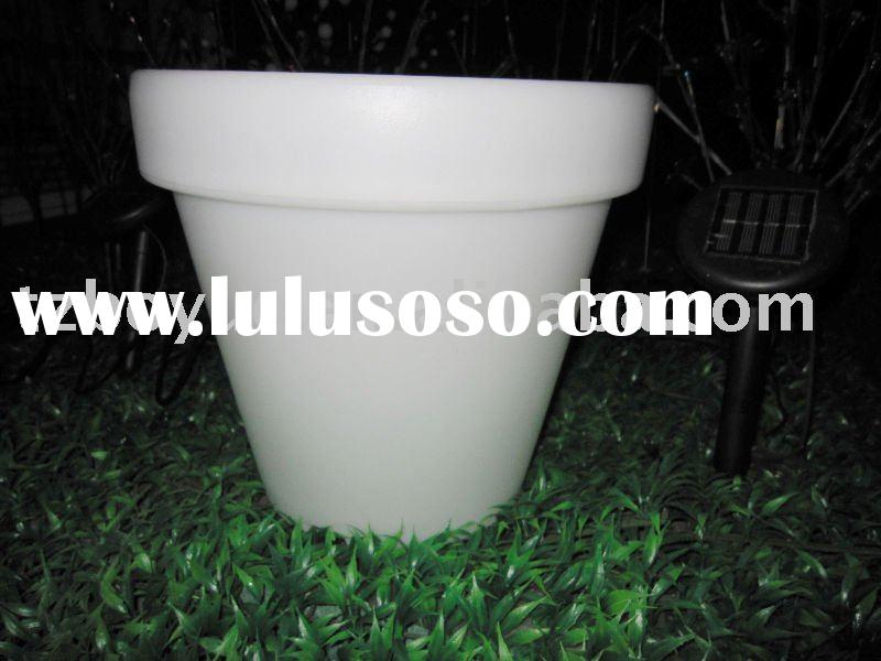 solar garden decorative light/flower pot