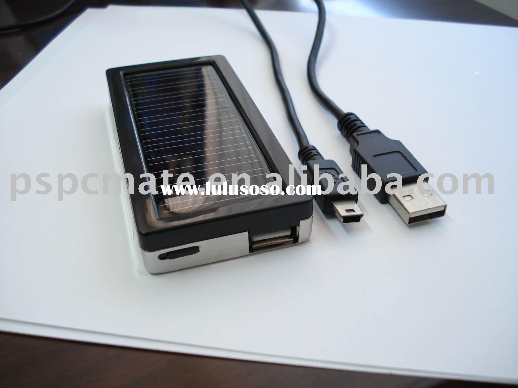 solar usb mobile phone charger