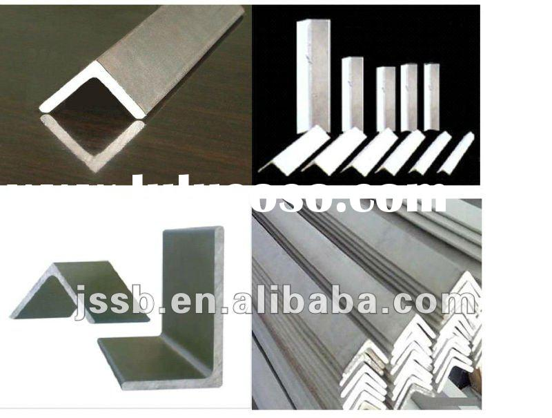 stainless steel angle/hot rolled stainless steel angle/sand blasting steel angle