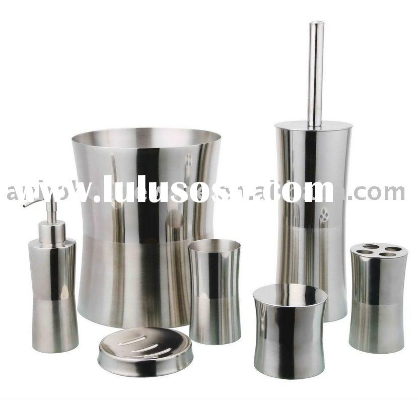 304 stainless steel bathroom accessories for sale price for Bathroom sets for sale