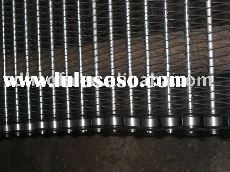 stainless steel chain drive conveyor band wire belt mesh