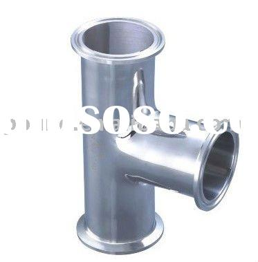 stainless steel t connector pipe clamp ending