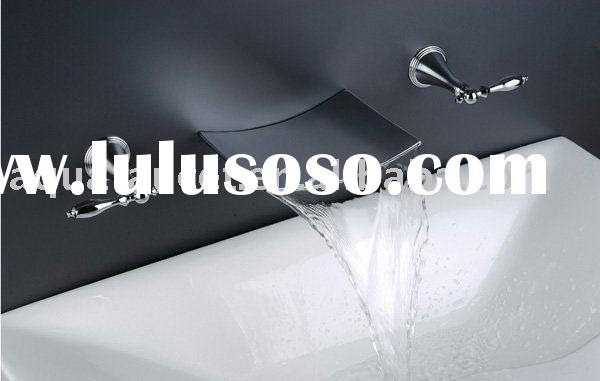 stainless steel waterfall Cascade Wall Spout(bath spout,in wall spout)