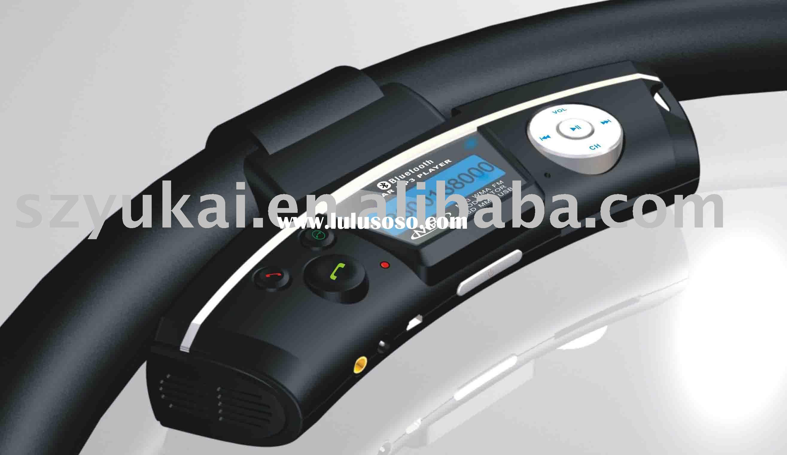 steering wheel bluetooth car mp3 player with laser keypad