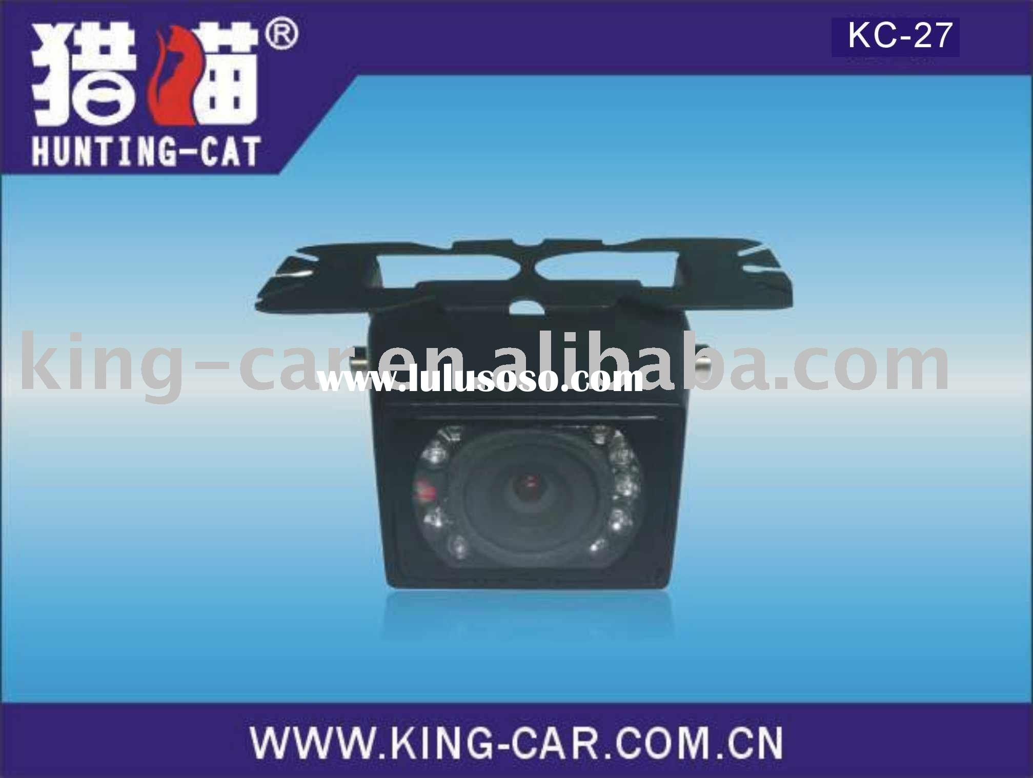 super-high night definition with IR lamps rear car camera