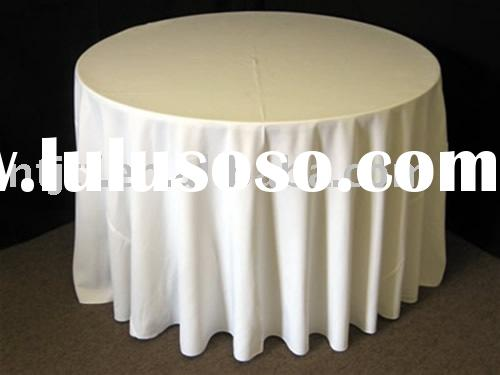 table cloth cover white polyester table cloth wedding tablecloth