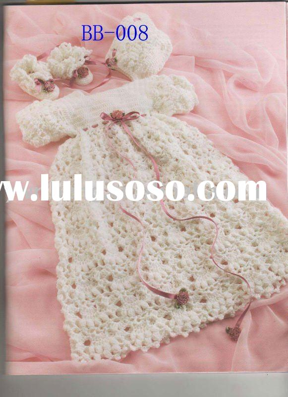 the newest crochet baby dress
