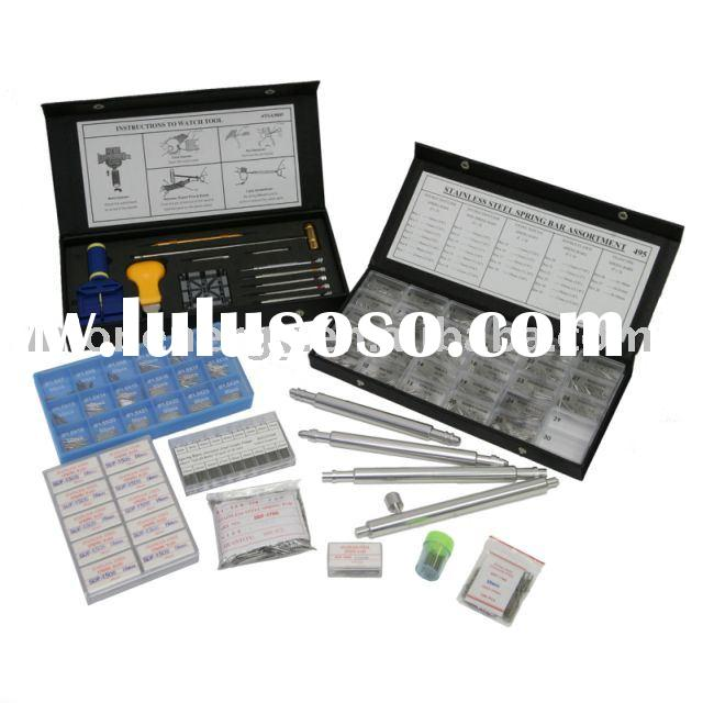 tool kit case, assortment and watch part for watchmaker