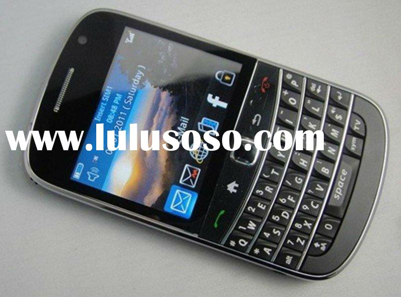 touch screen mobile phone i 9900,with tv wifi function