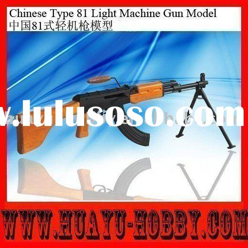 toy guns Chinese Type 81 Light Machine Gun Model hot selling new support paypal