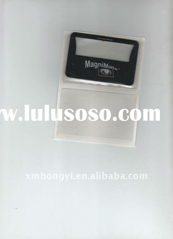 transparent vinyl self adhesive PVC card holder,NAME card holder