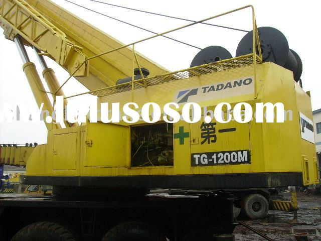 used japan origin crane for sale TADANO TG1200-M 120 ton in good working condition ( used tadano cra