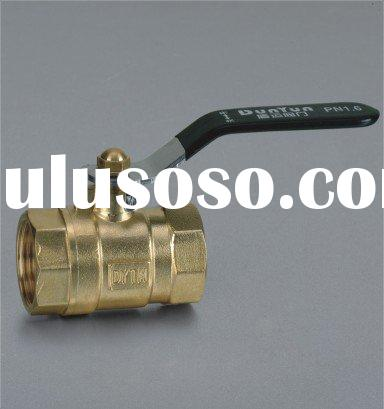 water brass ball valve