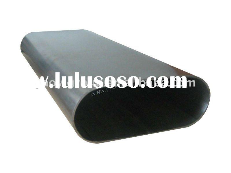 welded stainless steel oval pipe/tube
