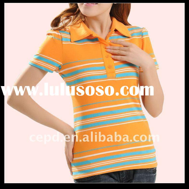 womens polo tops