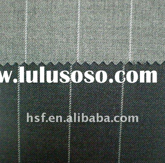 worsted suiting wool fabric