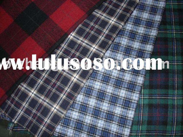 yarn dyed cotton flannel
