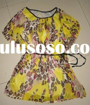 yellow chinese lady clothing from manufacturer