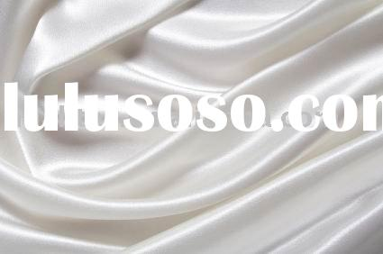 100% Polyester bridal satin fabric for dress
