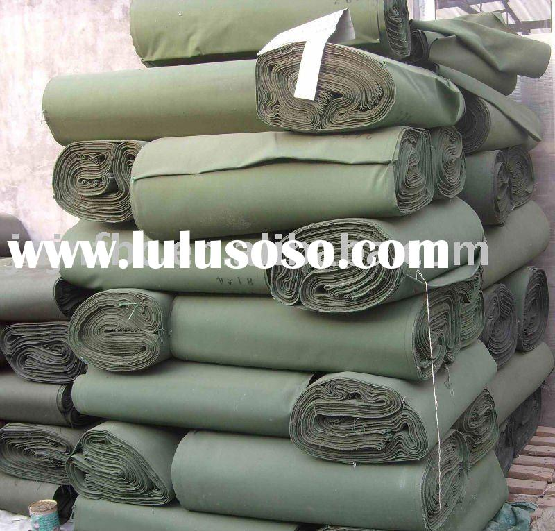 100% pure cotton canvas waterproof for tent fabric