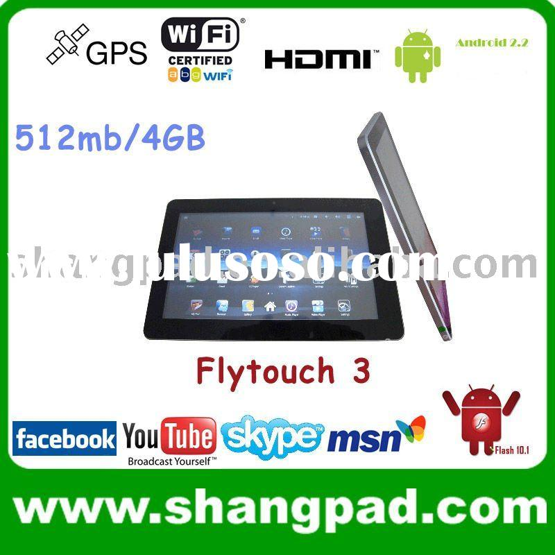 "10.2"" Flytouch3 Froyo android tablet pc android2.2 google market wifi gps HDMI"