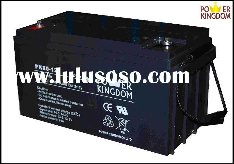 12V 80Ah Deep Cycle Battery for Solar System