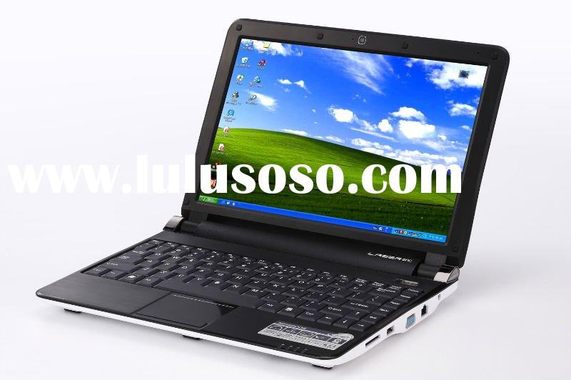 12.1inch Intel Atom N450 net book laptop with 6 cell battery