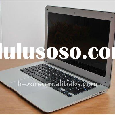 13.3 inch Ultra thin mini laptop&notebook with Intel Atom Dual-core D525 1.8Ghz processor, 2GB R