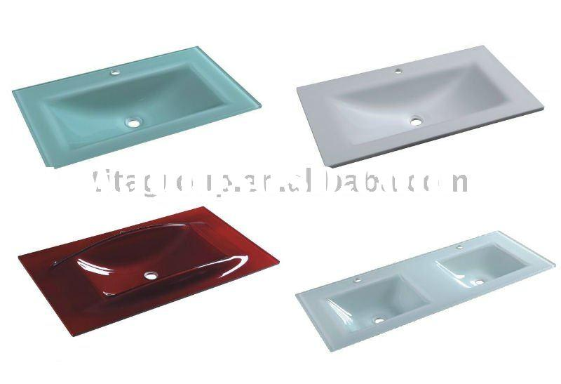 15mm tempered glass vanity top