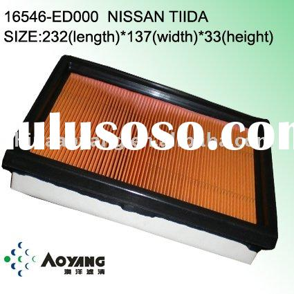 16546-ED000 Nissan TIIDA car air filter element