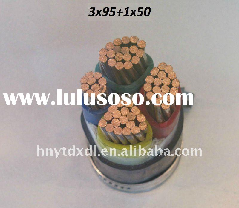 1KV Multicore pure copper PVC Sheathed Electric Cable