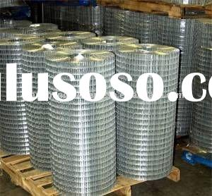 1/2 inch coated galvanized welded wire mesh(wire mesh supplier)