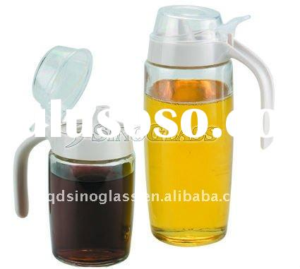 1 Pc Glass MEMOLE O/V Bottle With Handle S Size