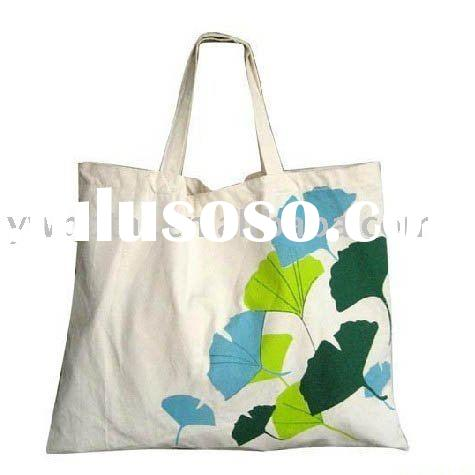 2010New Fashion Canvas tote Shopping Bag