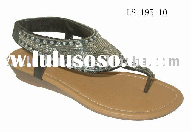 2010 ladies's summer sandal ,fashion sandals , ladies' sandal , hot sale women&#