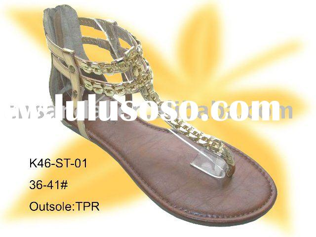 2010 lady fashion sandal