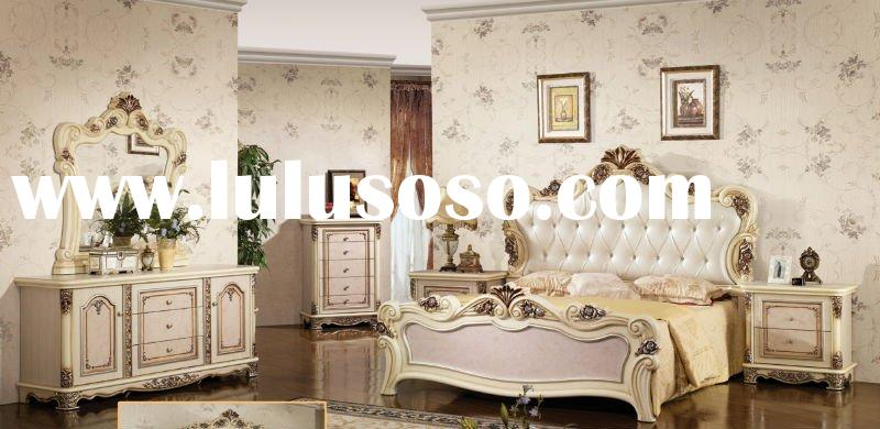 2011 Design Classical Bedroom Furniture&Rustic Furntiure&Wooden Bed&Middle East Bedroom