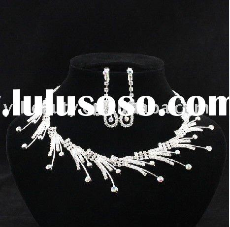2011 Fashion crystal bridal wedding jewelry