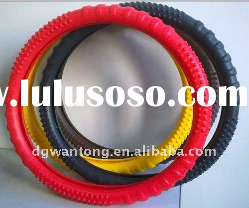 2011 Hot Sell Silicone steering wheel cover,wheel cover, car accessories, non-slip wheel cover