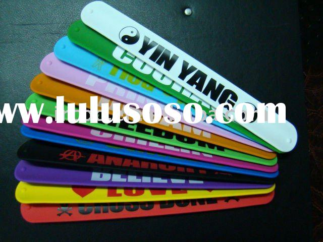 2011 Hot Selling Silicone Rubber Bracelet Bands