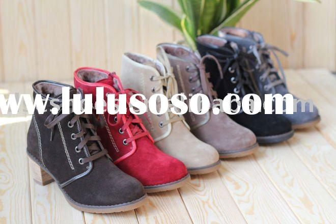 2011 New Fashion Ladies High Heel Ankle Boots DSC077