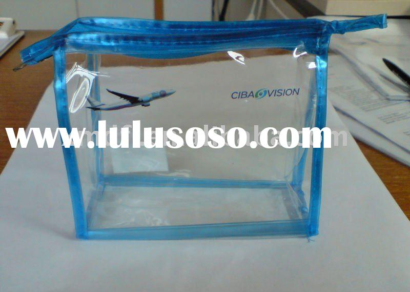 2011 New Transparent Clear PVC bag for cosmetic