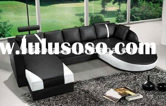 2011 Top Quality Leather sofa set FX14 For living room furniture