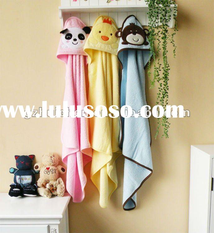 2011 baby clothes 100% cotton embroidery terry towel